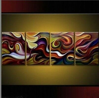 100% handcraft Modern Abstract Huge Art Oil Painting Canvas(No frame) 030