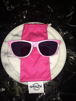 "OAKLEY FROGSKINS Pink ""Wildberry n' Milk"" LIMITED EDITION With Soft Case 03-203"