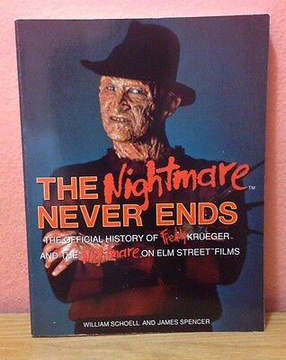 The Nightmare Never Ends: The Official History of Freddy Krueger *RARE*