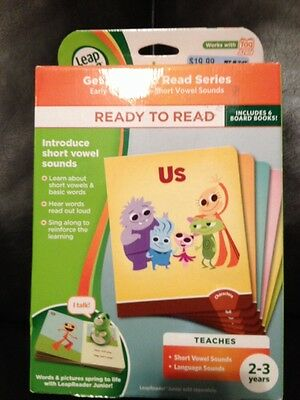 LeapFrog LeapReader Junior: Ready to Read Book Set (works with Tag Junior) NEW!