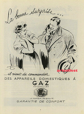 Original Vintage French Ad (1951)