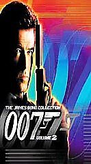 James Bond Collection 007 Gift Set - Vol. 2 (VHS, 2000) Five Movies