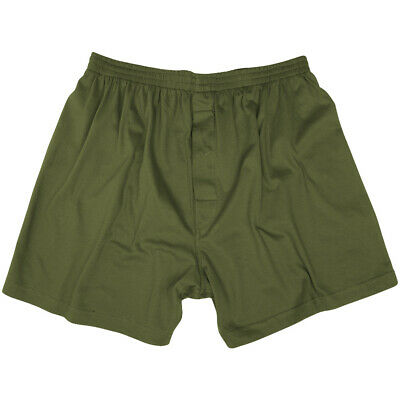 US Style Mens Army Military Combat Boxer Shorts Cotton Underwear Olive OD S-3XL