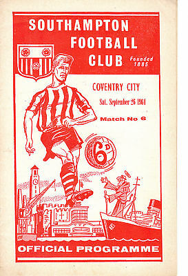 64/65 Southampton v Coventry