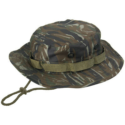 Military Vietnam Army Combat GI Boonie Jungle Bush Hat Tiger Stripe Camo  S-XXL e33b162319da