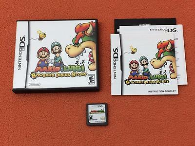 Mario & Luigi Bowser's Inside Story Nintendo DS Super Fast Complete! 219