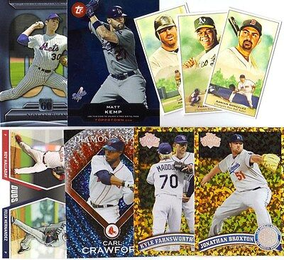 2011 Topps Series 1, 2, Update & Insert You Pick Any 20 Finish Your Set Base Lot