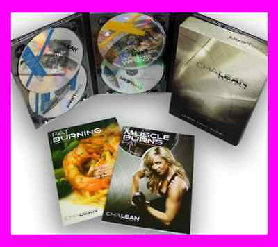 New & Sealed Chalean Extreme 7 DVD Box Set , all Guides are included