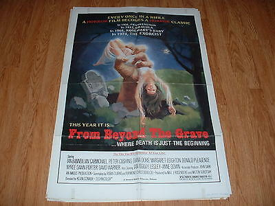 FROM BEYOND THE GRAVE-CUSHING-1973 ONE SHEET