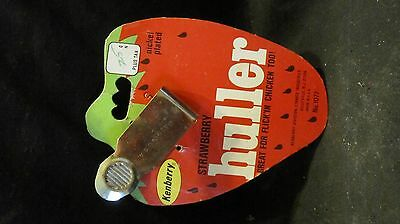 New w/Original Package,Kenberry Strawberry Huller,Nickel Plated,Flick'in Chicken
