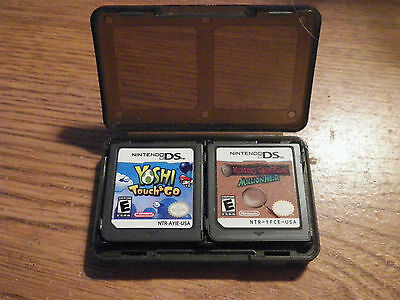 Yoshi Touch & Go & Mystery Case Files MillionHeir  Nintendo DS Games