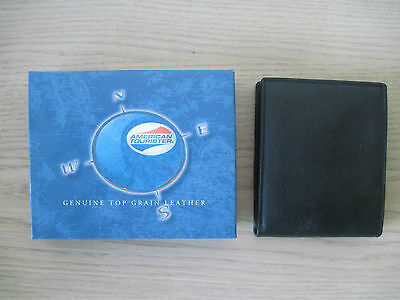 American Tourister Men's Wallet Black New in Box
