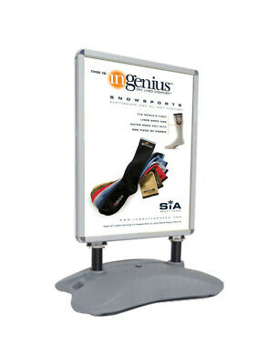 Outdoor Wind Resistant Store Poster Sign Menu Board Menu Stand Marketing Display