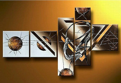 MODERN ABSTRACT HUGE WALL ART OIL PAINTING ON CANVAS (no framed )044
