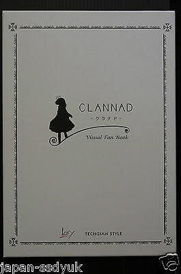 Clannad Visual Fan Book Key artbook with BOX oop rare