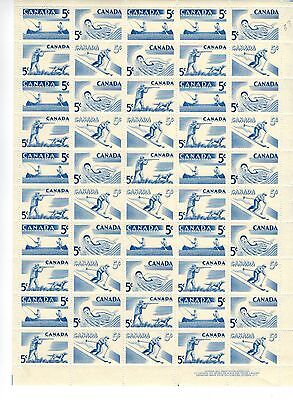 Canada Stamps Scott# 365-368 Full Sheet of 50 Plate 1 LR MNH