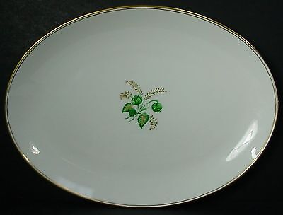 TUSCAN Royal Tuscan china CHARM pattern OVAL MEAT Serving PLATTER 13""