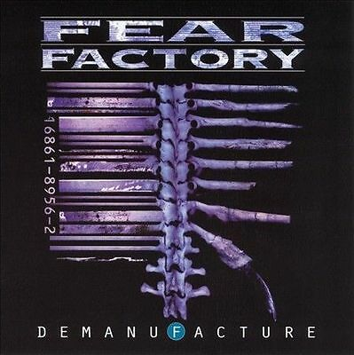 FEAR FACTORY  DEMANUFACTURE  ADVANCE PROMO CD IN CARDBOARD  UNPLAYED  RR118  95'