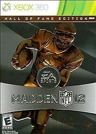 Madden NFL 12: Hall of Fame Edition  (Microsoft Xbox 360, 2011)