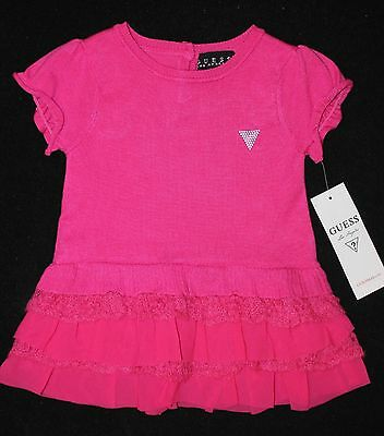 GUESS Kids Girls Baby Girl Rayon Dress with Bloomers Set 3-6 months Brand New !