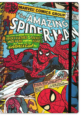 Marvel Retro Notizbuch DIN A 4 Spiderman