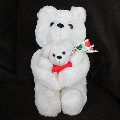 1988 Plush Bear with Baby from Avon