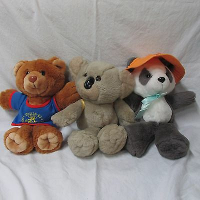 World of Wonderful Bears plush, 1989 from Avon