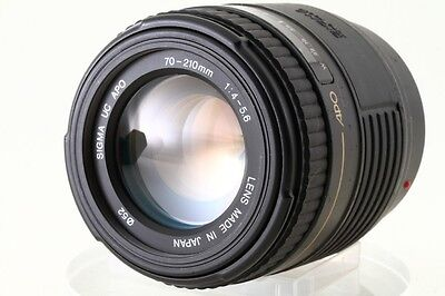 Exc!! Sigma UC APO 70-210mm /4-5.6 For SONY, MINOLTA  DSLR  From Japan