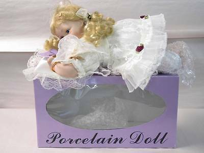 The Doll Crafter Classical Treasures Child with Pillow Crawling Porcelein Doll