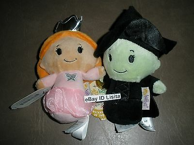 Hallmark 2014 Itty Bittys Wicked Witch & Glinda Wizard of OZ LIMITED NWT