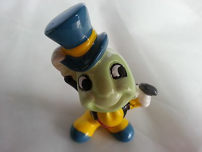 Authentic Vintage Collectible Porcelain Disney Jiminy Cricket Figurine