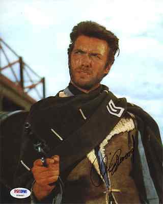 Clint Eastwood Fistful of Dollars Autographed Signed 8x10 Photo PSA/DNA AFTAL