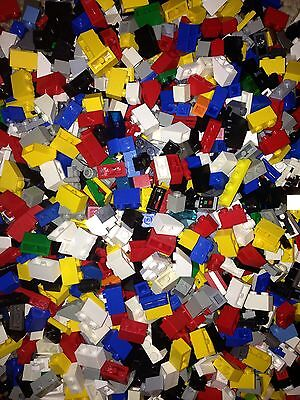 / 100 Random LEGO / Small Parts & Pieces / MIX Colors / Grab Bag Lot / Bulk /