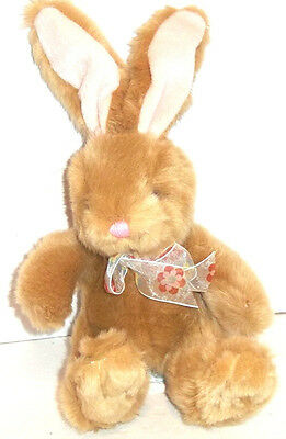 "Russ VALERIE THE EASTER BUNNY Rabbit Plush Avon Exclusive Very Soft 11"" Tall"