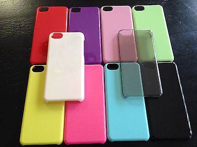 Wholesale Lot of 20 Assorted Color Plastic Case Cover Skins for iPhone 5C