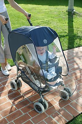 Pushchair Push Chair Pram Stroller Buggy Baby Seat Raincover Rain Wind Cover 032