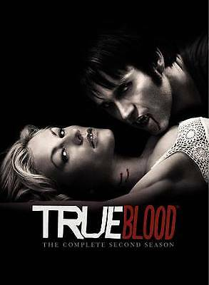 Used: TRUE BLOOD The Complete Second Season (2010, 5-Disc Set, USA) DVD [V25]