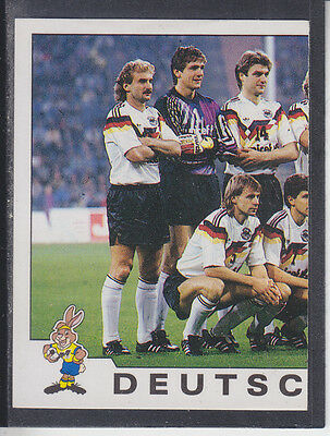 Panini - Euro 92 - # 189 Deutschland Team Group
