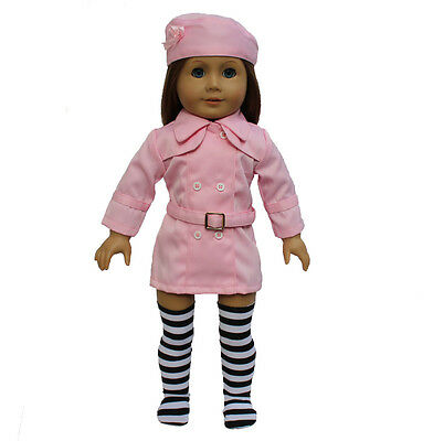 "New Pink Fashion Suit fits 18"" American Girl Doll Clothes Free shipping! 2015"