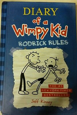 Diary of a Wimpy Kid: Rodrick Rules by Jeff Kinney (2008, Hardcover), Children