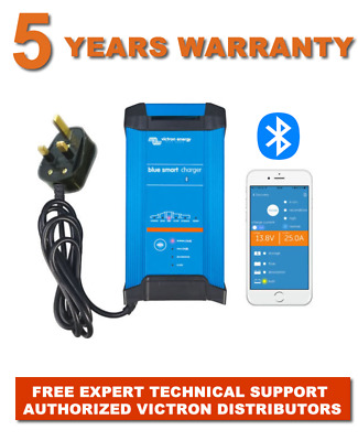 VICTRON BLUE POWER 12 VOLT BATTERY CHARGER IP22 30 Amp 3 Output FREE EU Delivery