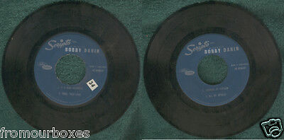 Scripto Presents Bobby Darin If A Man Answers EP 45 RPM Vinyl Record