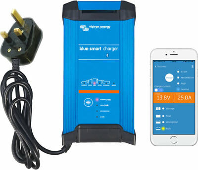VICTRON BLUE SMART UK 12 VOLT IP22 BATTERY CHARGER 15/20/30 A (1)  FREE Delivery