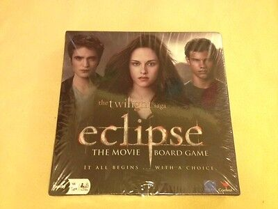 The Twilight Saga Eclipse The Movie Board Game *BRAND NEW & SEALED*
