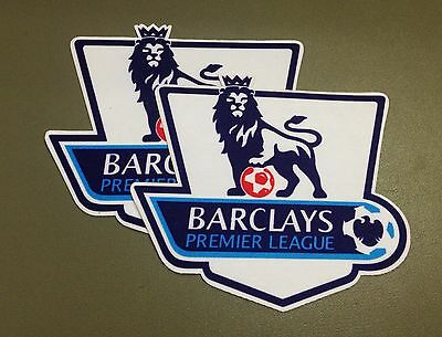 Set 2 Patch of EPL White Soccer patch arm badge sport team league iron on patch