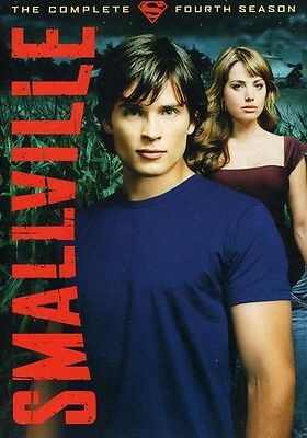 Smallville: The Complete Fourth Season [6 Discs] [Viva Packaging (2010, DVD New)