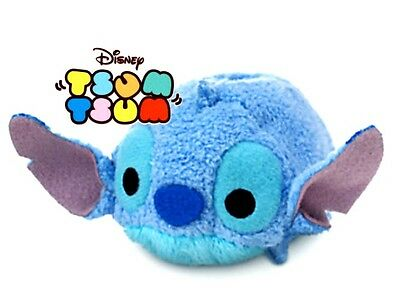 NEW! Disney Stitch! Mini Tsum Tsum stackable Plush from Japan Embroidered