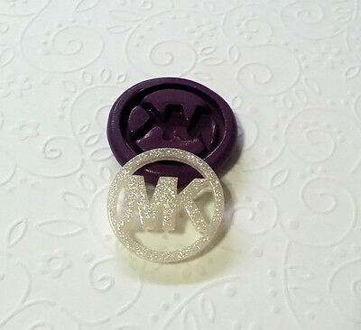 Silicone Mold Designer Bag Logo Mould (S) (25mm) Fondant Chocolate Resin Clay
