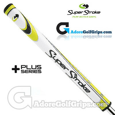 SuperStroke Mid Slim 2.0 XL Plus Legacy Series Counter Core Putter Grip - Yellow