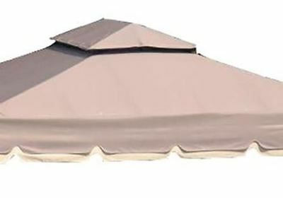 REPLACEMENT ROOF with ELASTICS&HOOKS (FABRIC ONLY) FOR 10'X10' GAZEBO  PTPDE